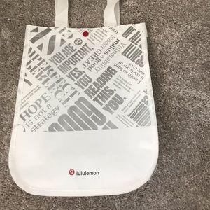 Lulu lemon bag reusable